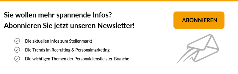 Anmeldung Jobmarkt-Newsletter