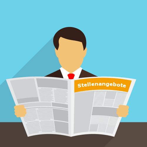 Passiv-Suchende im Print Stellenmarkt
