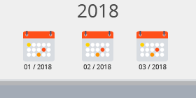 Kalender 1. Quartal 2018