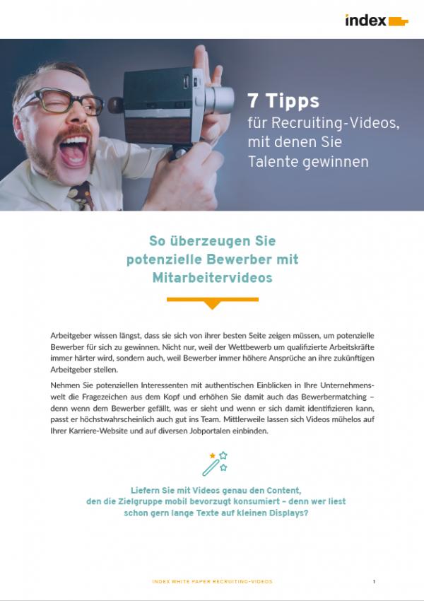 White Paper Recruiting Videos